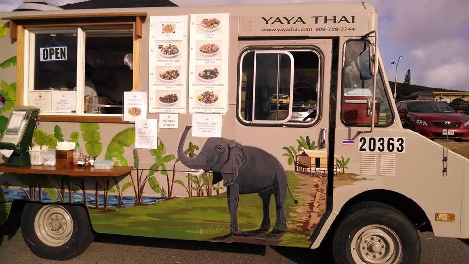 Thai food truck!